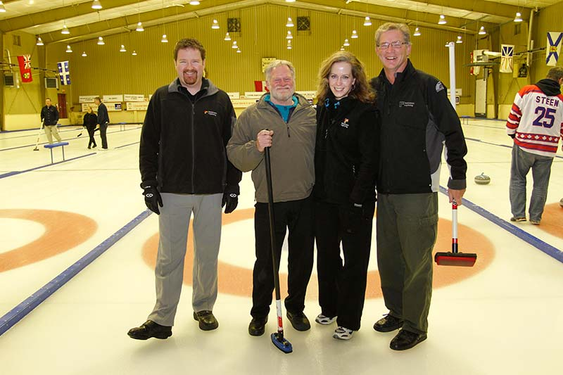MHBA Curling Event
